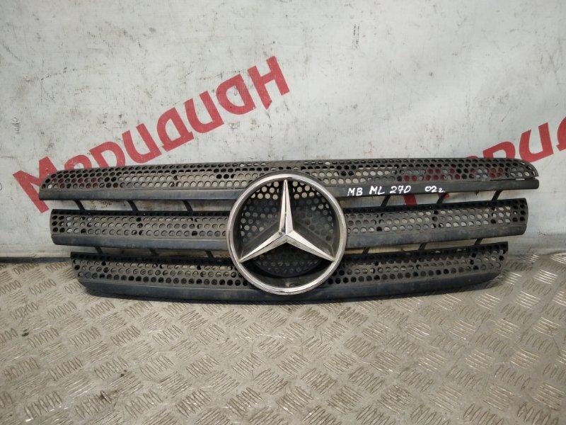Решетка радиатора Mercedes Benz Ml W163 2002 (б/у)