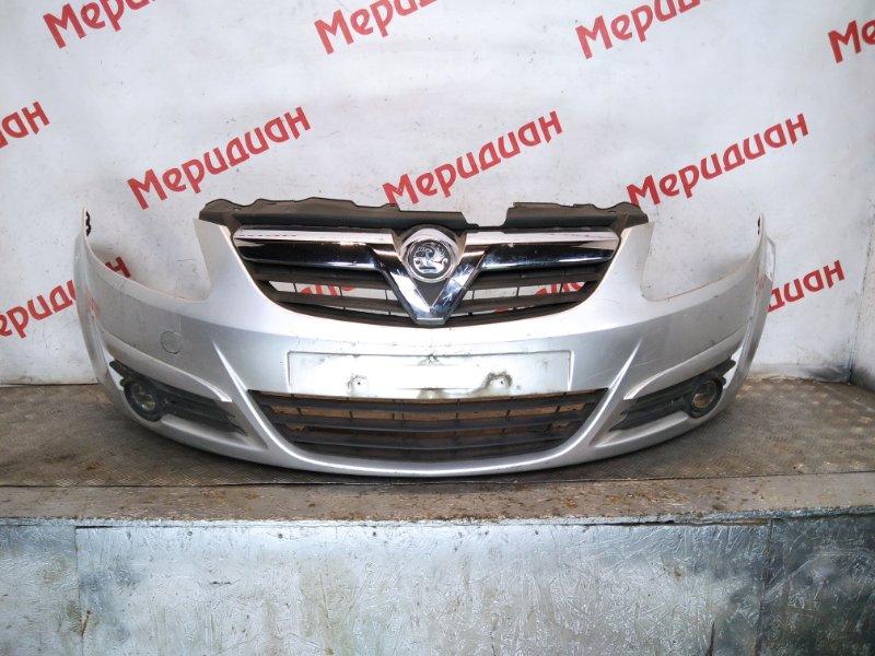 Бампер передний Opel Corsa D 2007 (б/у)