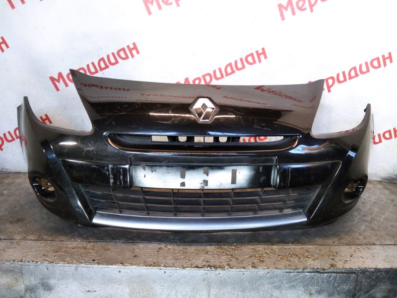 Бампер передний Renault Clio III 2011 (б/у)