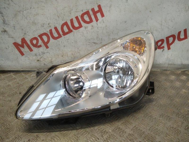 Фара левая Opel Corsa D 2007 (б/у)