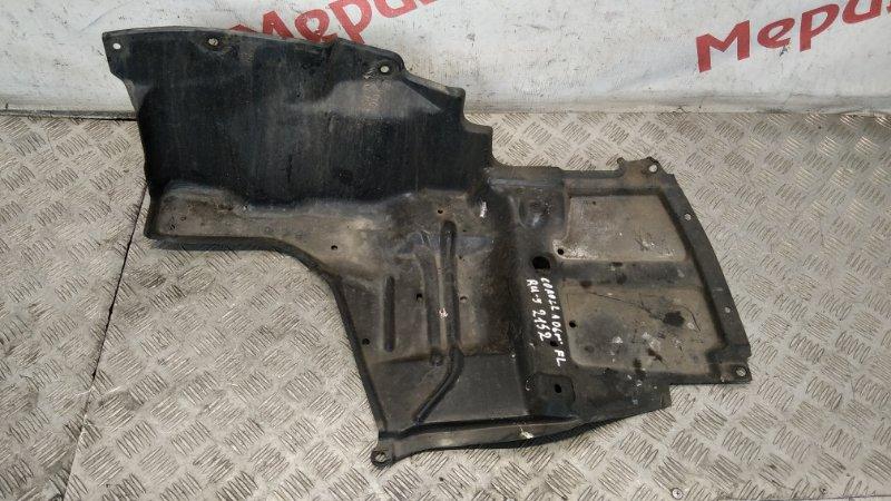 Пыльник двигателя нижний левый Toyota Corolla E12 2006 (б/у)