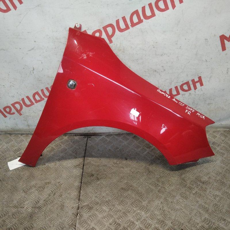 Крыло переднее правое Skoda Roomster 2008 (б/у)