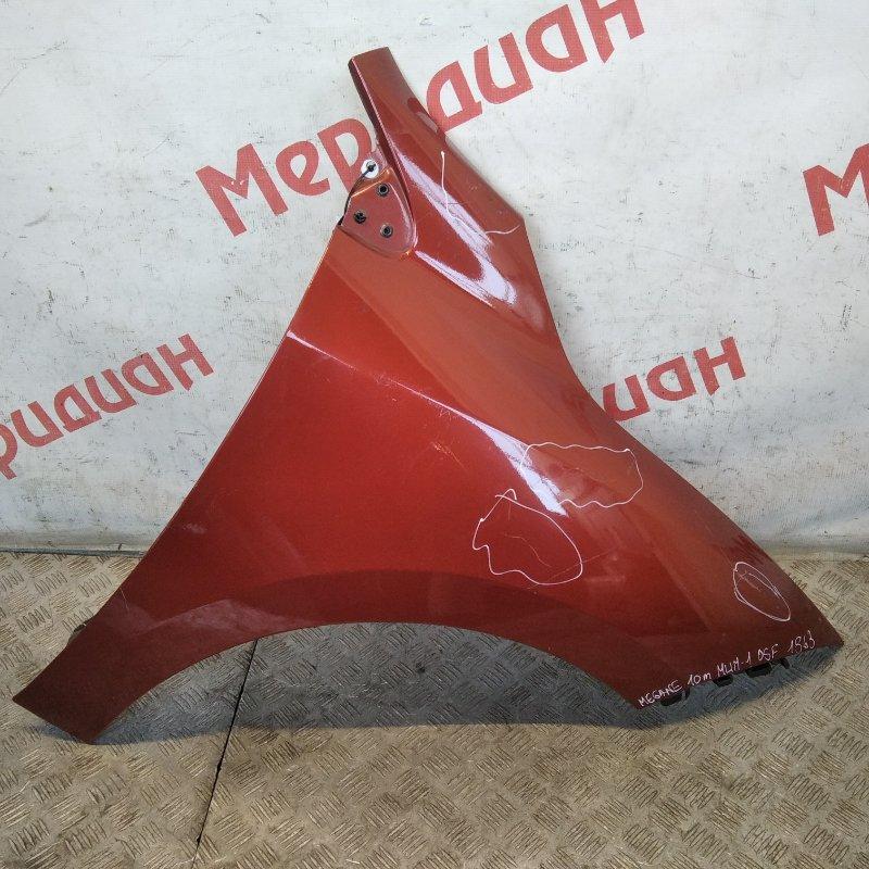 Крыло переднее правое Renault Megane III 2010 (б/у)