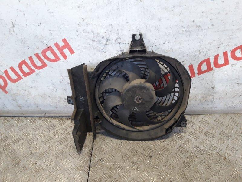 Вентилятор радиатора кондиционера Hyundai Santa Fe SM 2003 (б/у)