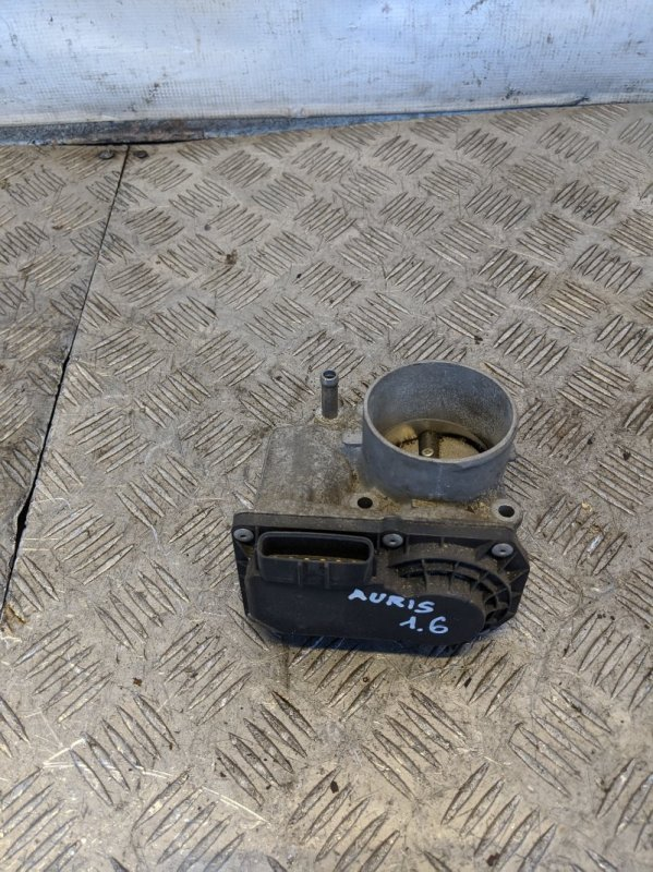 Заслонка дроссельная электрическая Toyota Auris I 1.6 2008 (б/у)