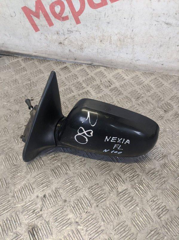 Зеркало левое механическое Daewoo Nexia 2010 (б/у)