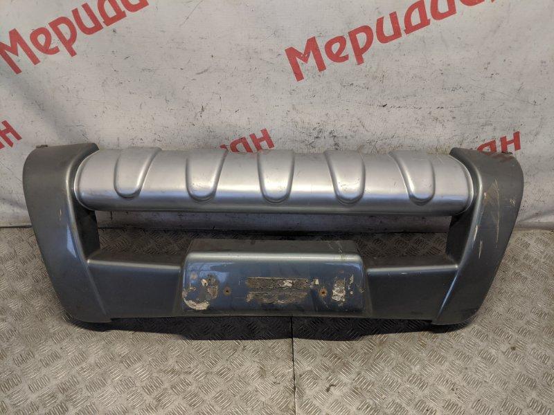 Накладка переднего бампера Mitsubishi L200 KB 2009 (б/у)