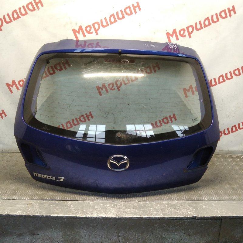 Дверь багажника Mazda 3 BK 2006 (б/у)