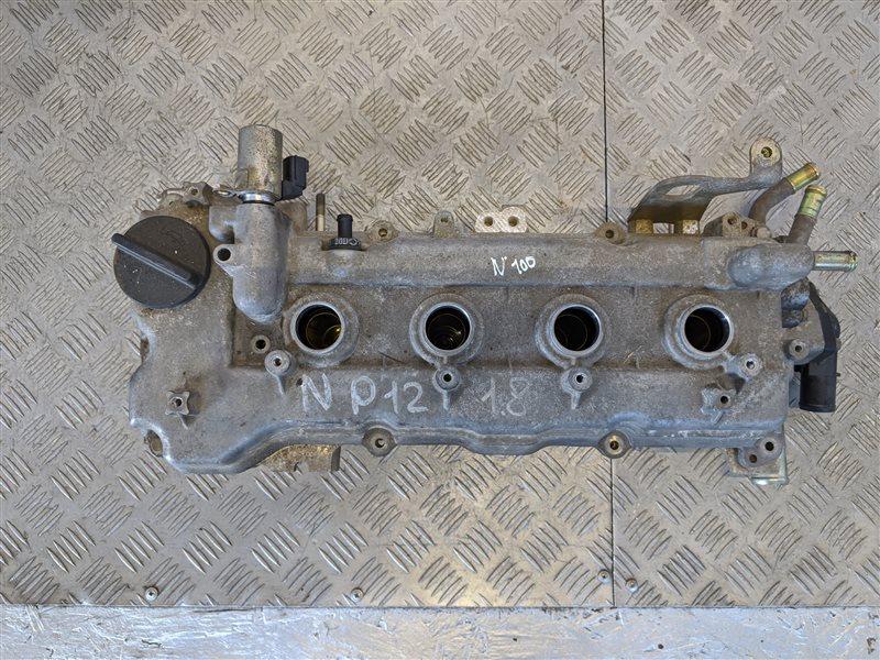 Крышка головки блока (клапанная) Nissan Primera P12 1.8 2005 (б/у)