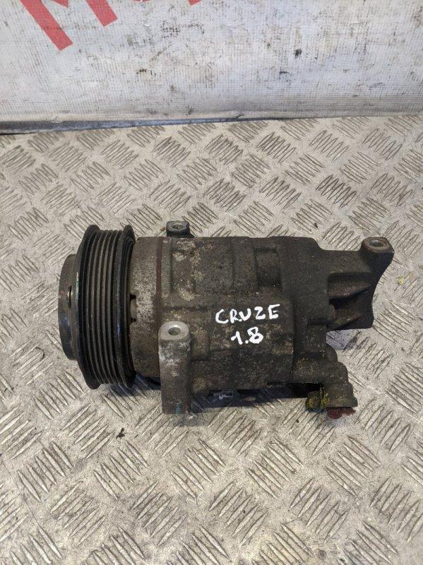 Компрессор кондиционера Chevrolet Cruze 2010 (б/у)