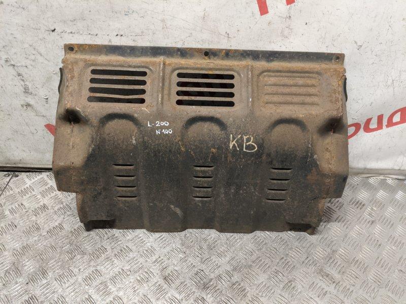 Защита двигателя Mitsubishi L200 KB 2008 (б/у)
