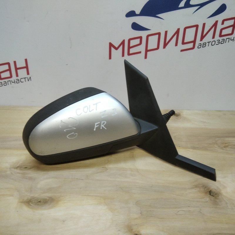 Зеркало правое механическое Mitsubishi Colt Z3 2006 (б/у)