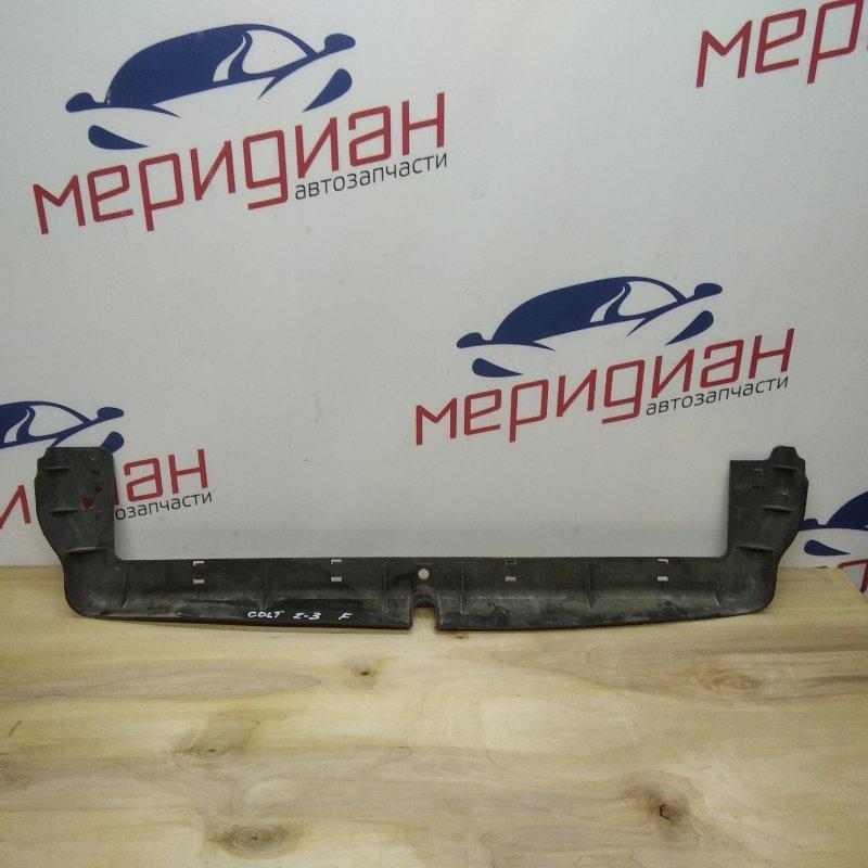 Пыльник радиатора нижний Mitsubishi Colt Z3 2006 (б/у)