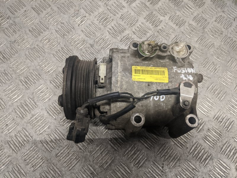 Компрессор кондиционера Ford Fusion 1.4 2008 (б/у)
