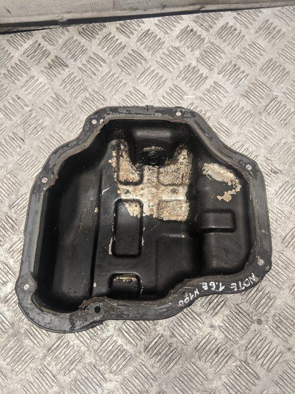 Поддон масляный двигателя Nissan Note E11 2007 (б/у)