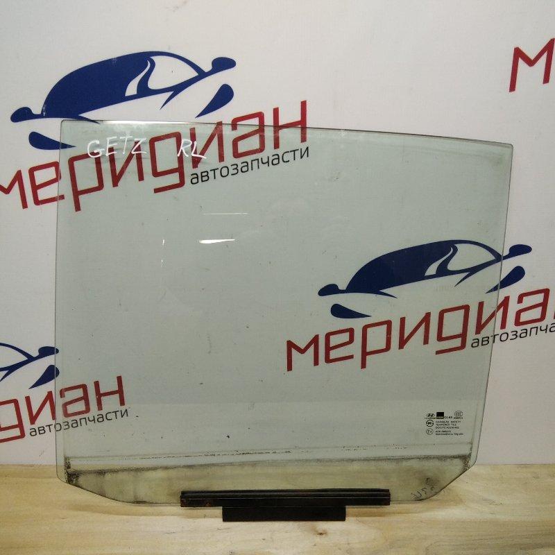 Стекло двери задней левой Hyundai Getz 2008 (б/у)