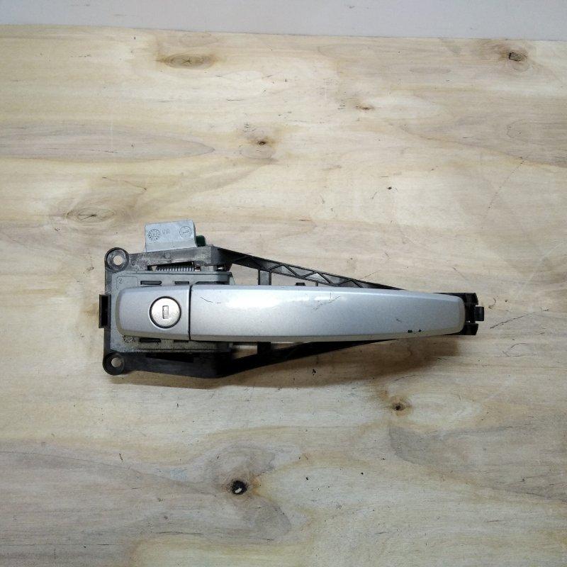 Ручка двери передней наружная правая Opel Astra H 2008 (б/у)