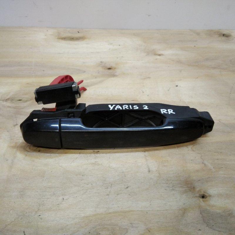 Ручка двери задней наружная правая Toyota Yaris II 2008 (б/у)