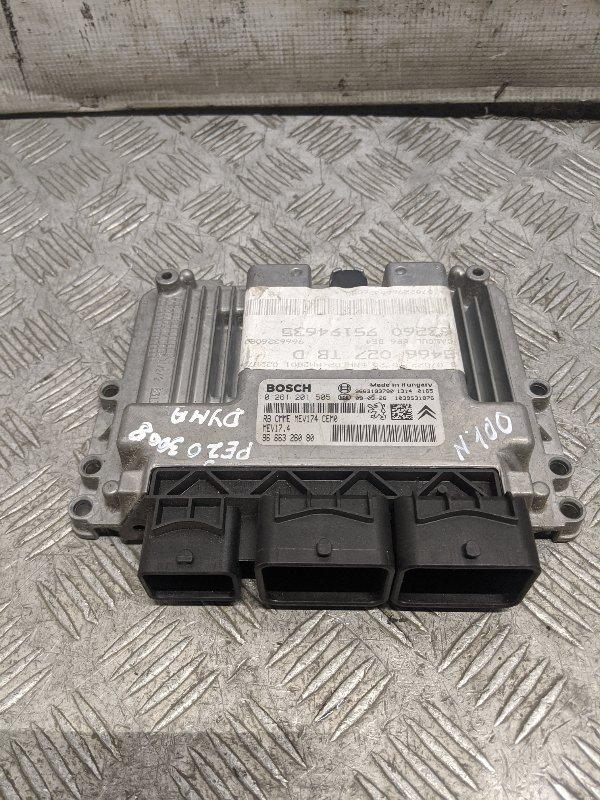 Блок управления двигателем Peugeot 3008 1.6 2009 (б/у)