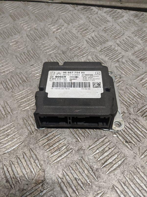 Блок управления air bag Peugeot 3008 1.6 2009 (б/у)