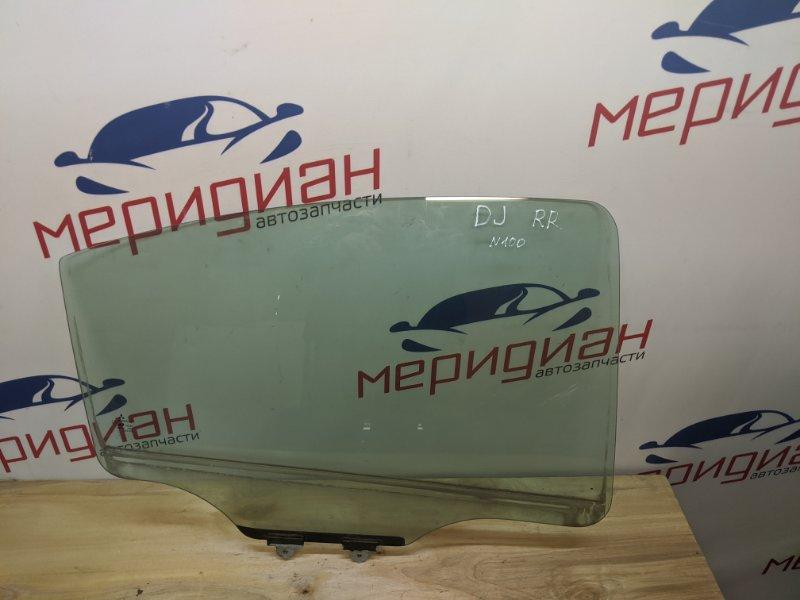 Стекло двери задней правой Mitsubishi Galant DJ 2.4 2005 (б/у)