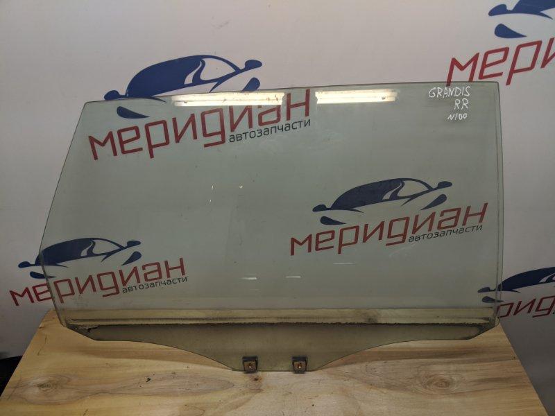 Стекло двери задней правой Mitsubishi Grandis NA 2.4 2006 (б/у)