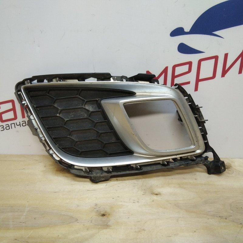 Рамка противотуманной фары правой Mazda 6 GH 2009 (б/у)