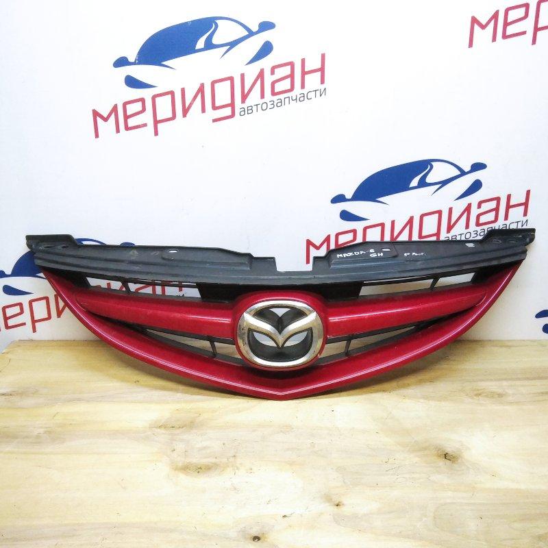 Решетка радиатора Mazda 6 GH 2009 (б/у)