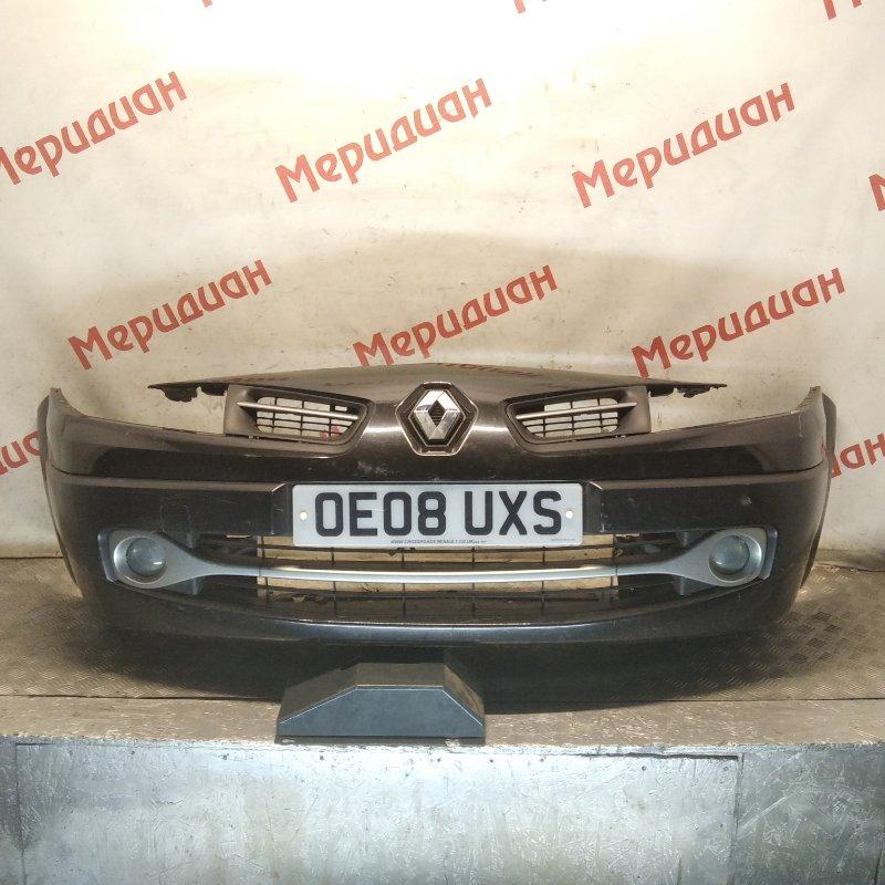 Бампер передний Renault Megane II 2007 (б/у)