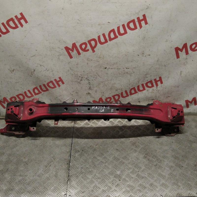Усилитель переднего бампера верхний Mazda 6 GH 2009 (б/у)