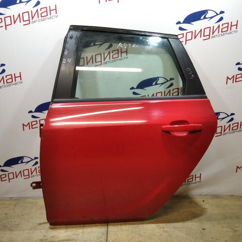 Дверь задняя левая Opel Astra J 2011 (б/у)