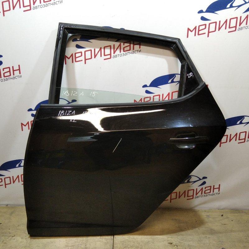 Дверь задняя левая Seat Ibiza V 2015 (б/у)