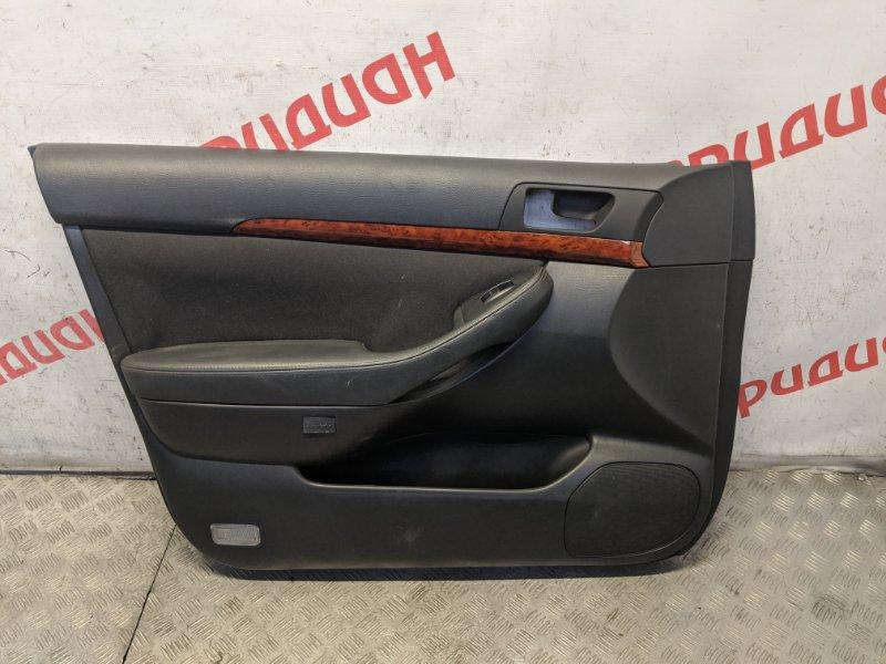 Обшивка двери передней левой Toyota Avensis II 2.4 2007 (б/у)