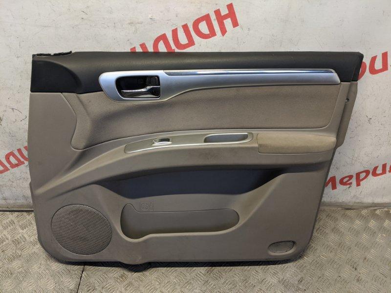 Обшивка двери передней правой Mitsubishi Pajero Sport KH 2.5 2011 (б/у)