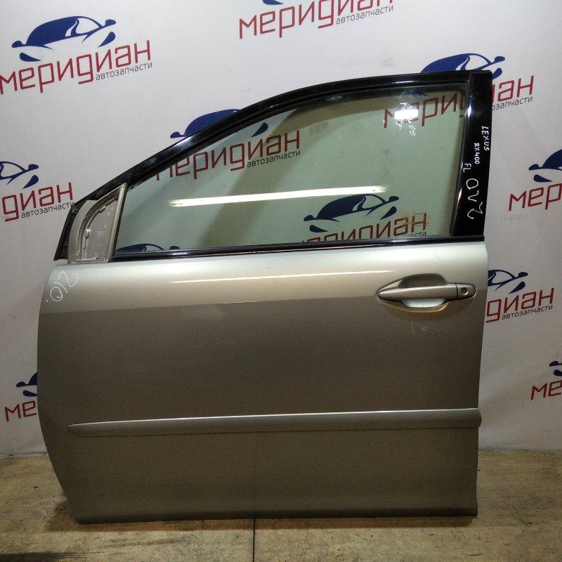 Дверь передняя левая Lexus Rx XU30 2007 (б/у)