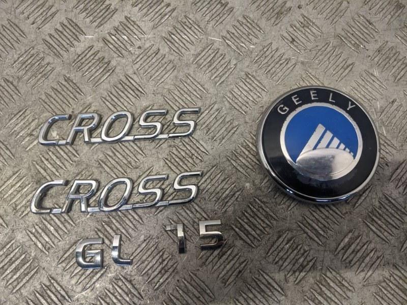 Эмблема Geely Mk Cross 2014 (б/у)