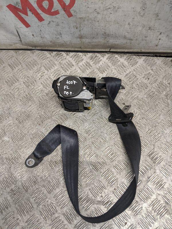Ремень безопасности с пиропатроном передний левый Peugeot 4007 2010 (б/у)