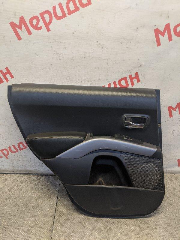 Обшивка двери задней левой Mitsubishi Outlander CW 2009 (б/у)