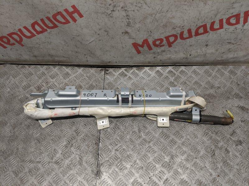Подушка безопасности боковая (шторка) правая Peugeot 4007 2011 (б/у)