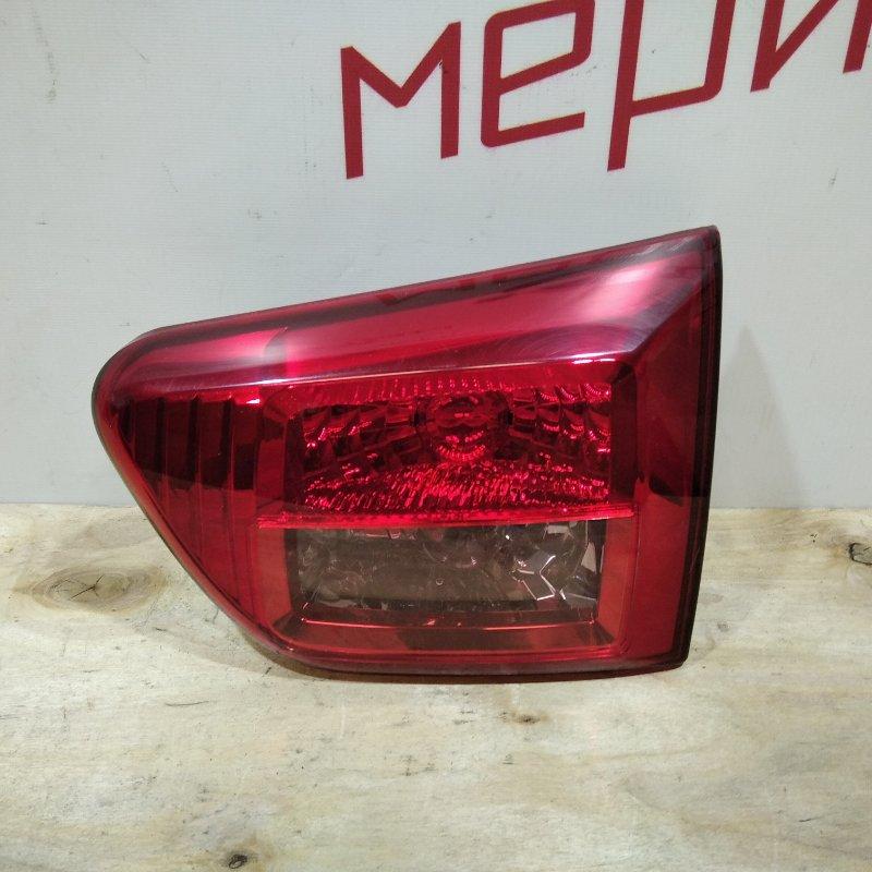 Фонарь задний внутренний правый Peugeot 4007 2012 (б/у)