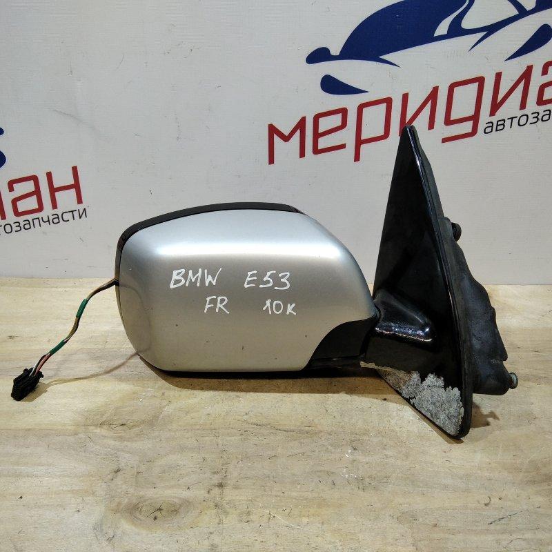 Зеркало правое электрическое Bmw X5 E53 2002 (б/у)