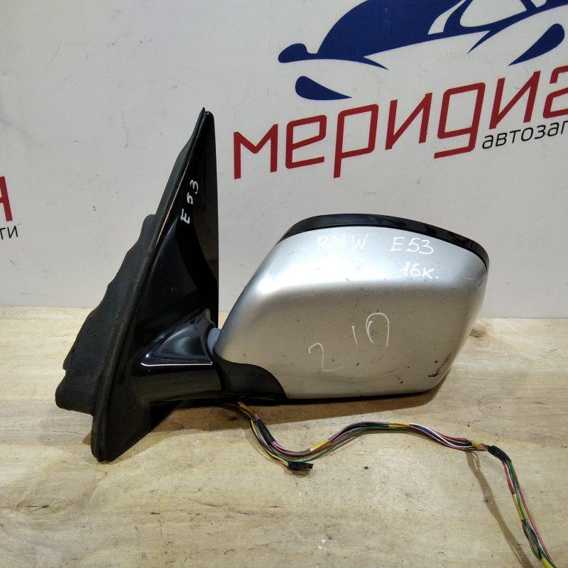 Зеркало левое электрическое Bmw X5 E53 2002 (б/у)