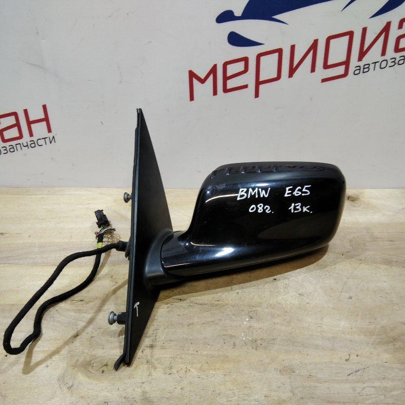 Зеркало левое электрическое Bmw 7-Series E65 2008 (б/у)