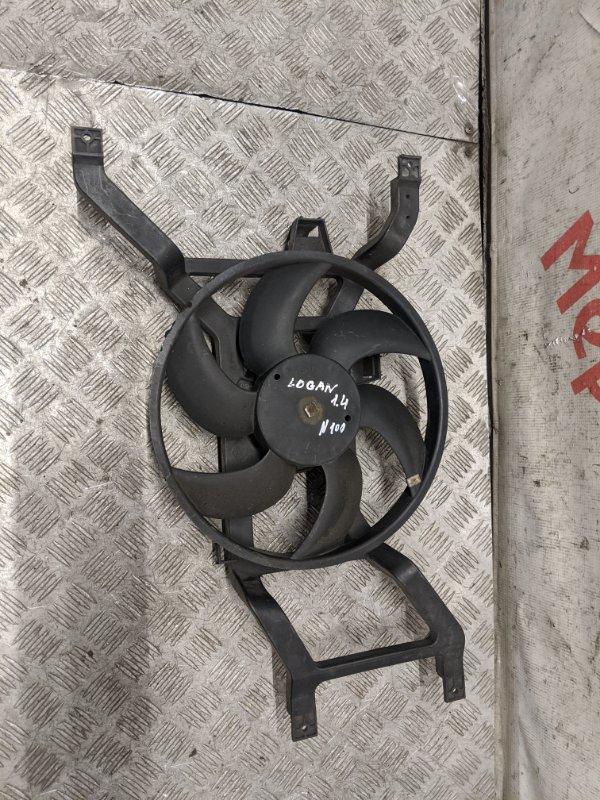 Вентилятор радиатора Renault Logan 1.6 2009 (б/у)