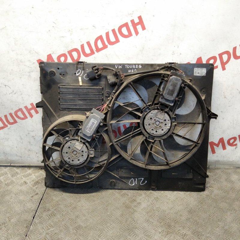 Вентилятор радиатора Volkswagen Touareg GP 2005 (б/у)