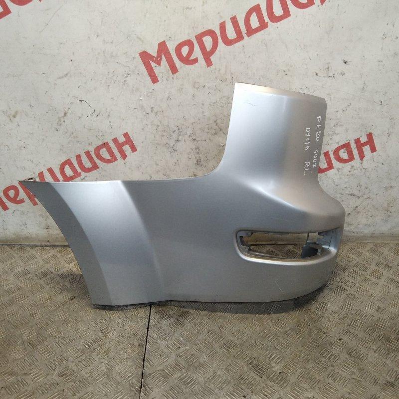 Накладка заднего бампера левая Peugeot 4007 2010 (б/у)