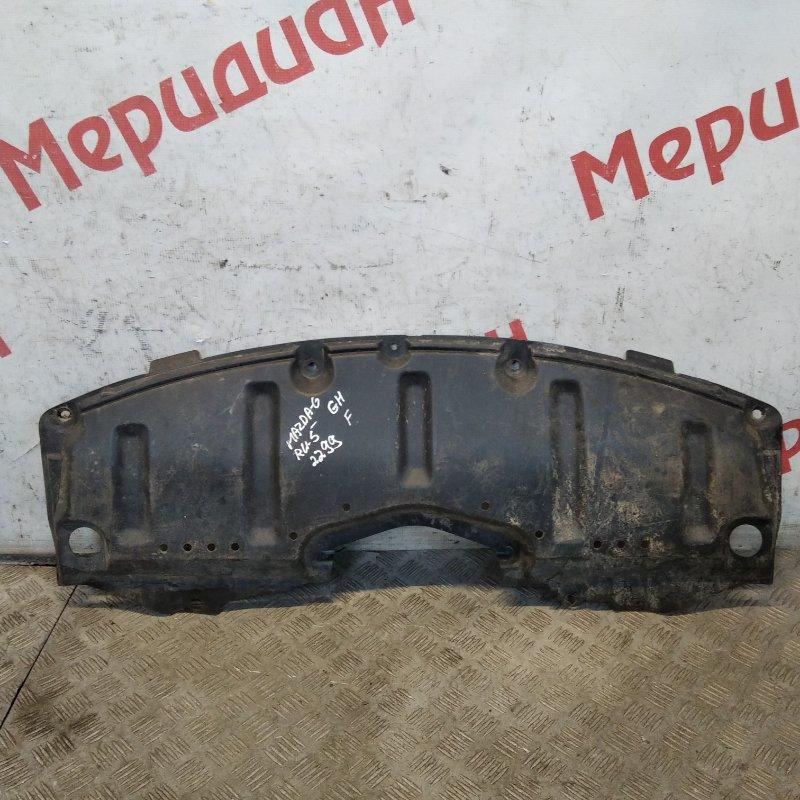 Пыльник переднего бампера Mazda 6 GH 2010 (б/у)