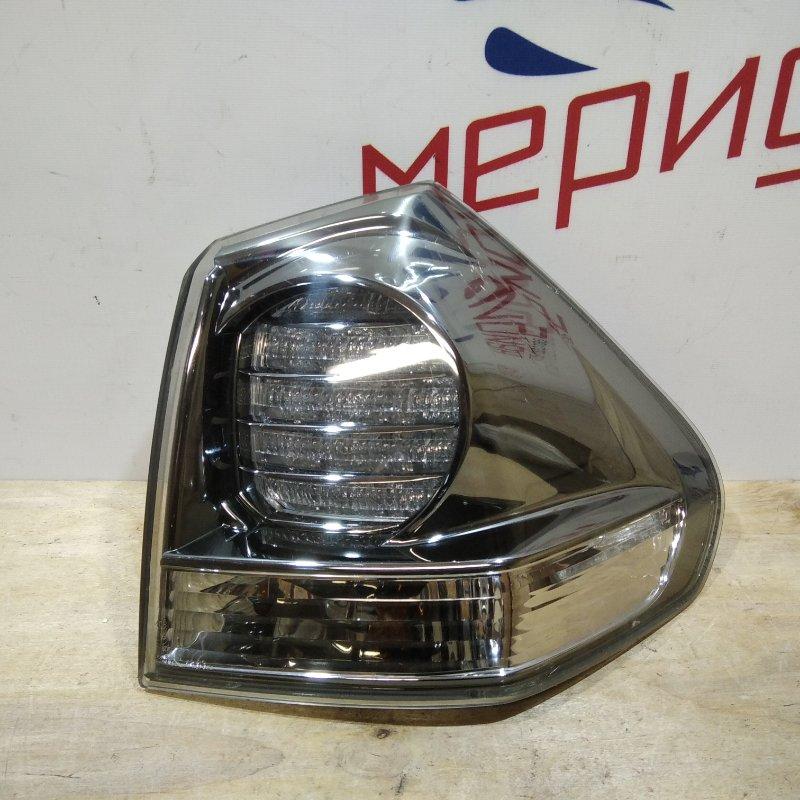 Фонарь задний наружный правый Lexus Rx 2007 (б/у)