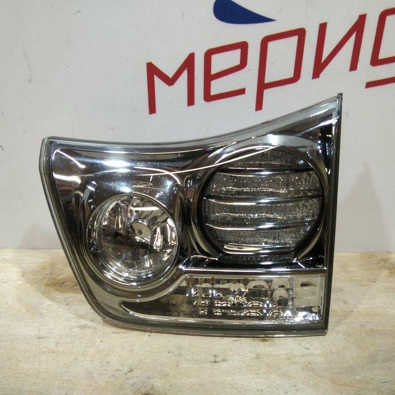 Фонарь задний внутренний правый Lexus Rx XU30 2007 (б/у)