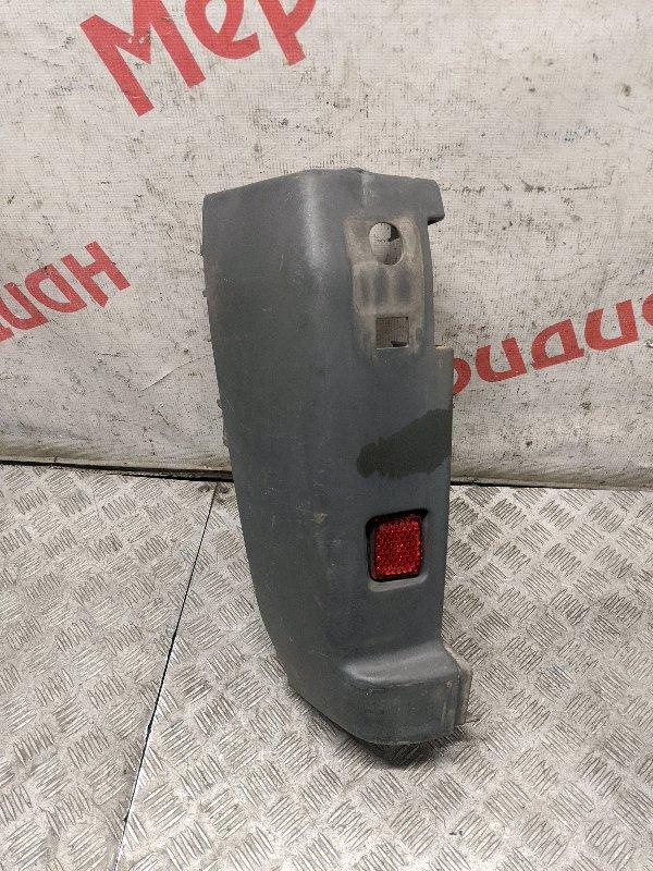 Накладка заднего бампера левая Peugeot Boxer 250 2.2 2009 (б/у)